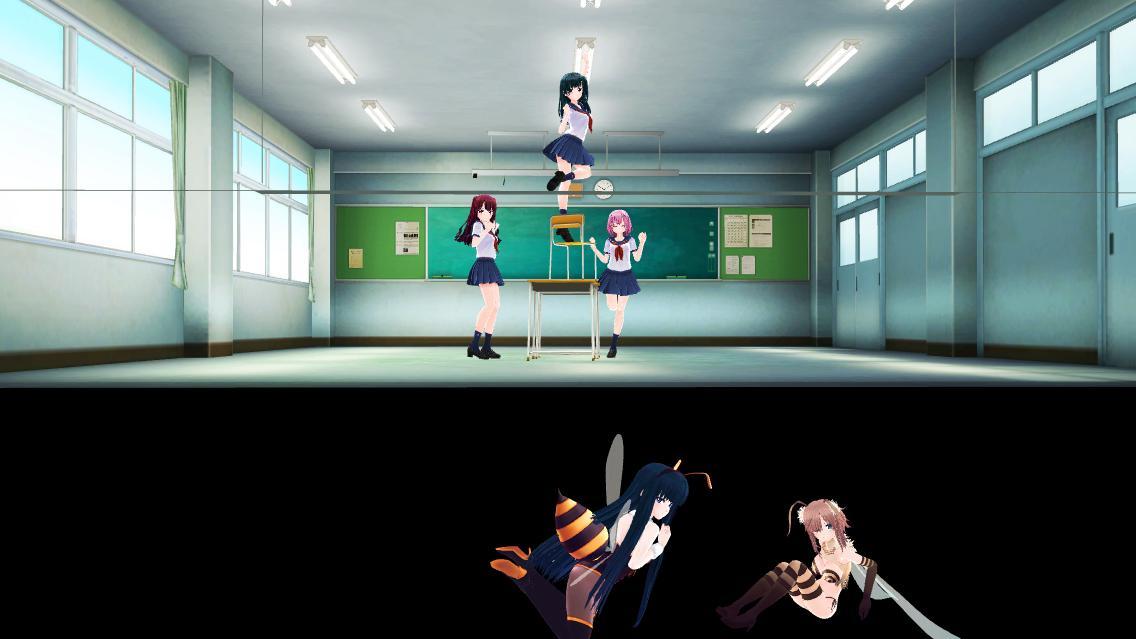 教室 舞台裏