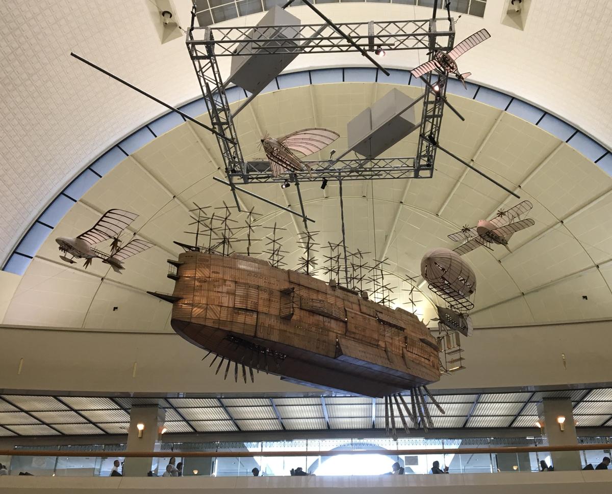 ラピュタの飛行戦艦「ゴリアテ」 福岡