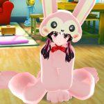 今回のイベントは・・ 衣装「とびとびウサギ」